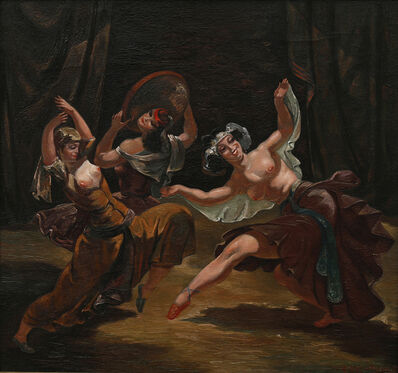 Lado Gudiashvili, 'Characteristic Dance', 1950