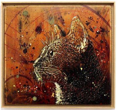 C215, 'Le Chat Roux', 2016