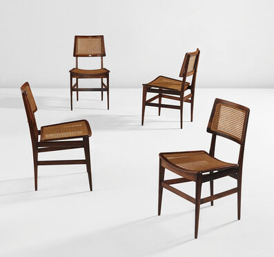Joaquim Tenreiro, 'Set of four side chairs', ca. 1960