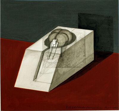 Walter Pichler, 'Schädeldecke (wie ein Gebäude)', 2007