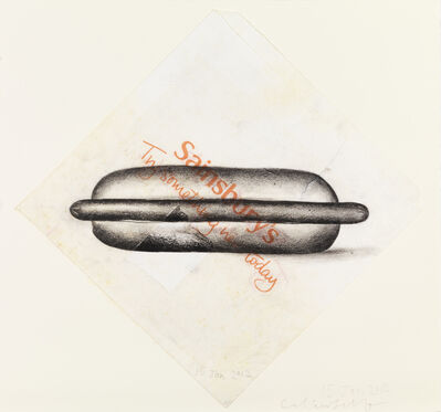 Colin Self, 'Hot-Dog (Sainsbury's 'try something new today')', 2012