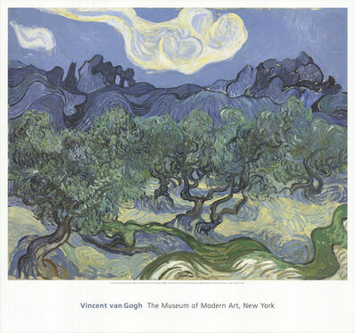 Vincent van Gogh, 'The Olive Trees', 1998