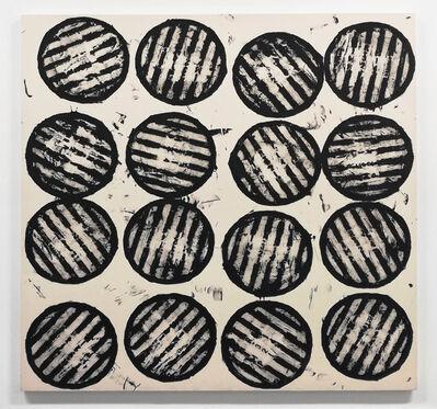 Gerald Ferguson, '16 Drain Covers', 2006