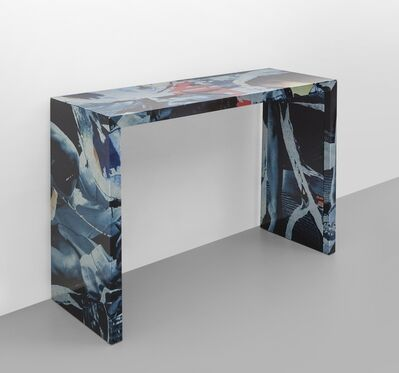 Mimmo Rotella, 'A console from the 'Décollage' series', 2005
