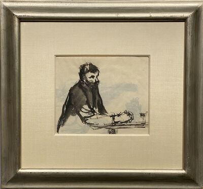 Charles Demuth, 'Absinthe Drinker', 1907