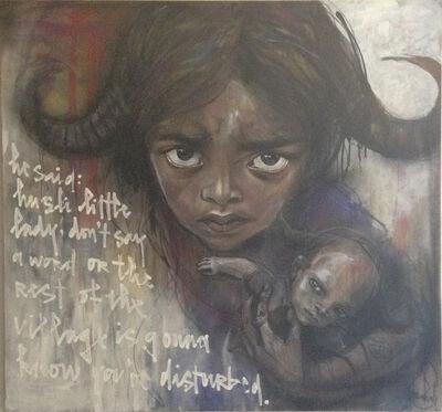 Herakut, 'He Said: Hush Little Lady Don't Say A Word'