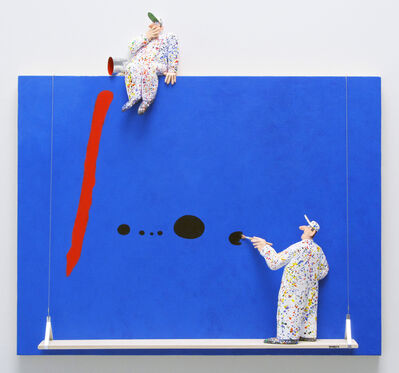 Stephen Hansen, 'Blue II: Miró'