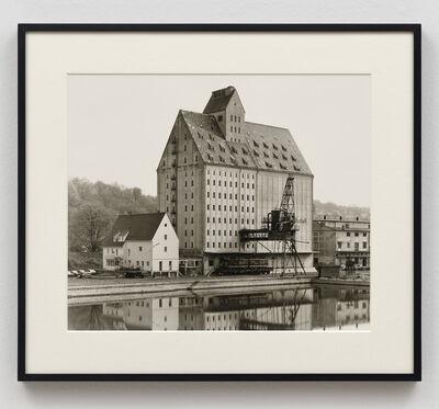 Bernd and Hilla Becher, 'Getreidesilo, Passau, D', 1988