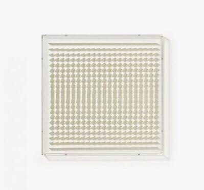 Hartmut Böhm, 'Quadratrelief 113 (From: Visuell veränderliche Struktur)', 1967