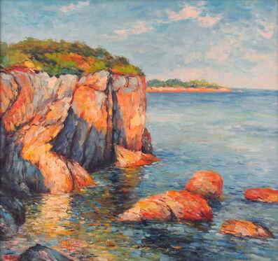Georges Peter, 'Mediterranean Coastal Scene', ca. 2000