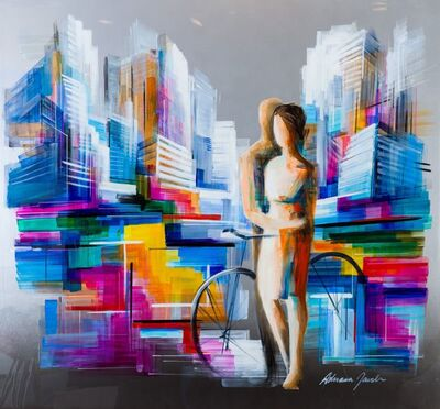 Adriana Naveh, 'Couple in the city', 2018