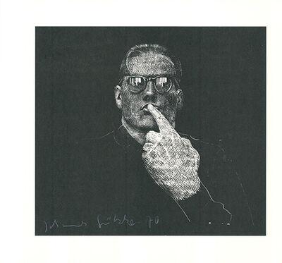 Johannes Grützke, 'Selbstportrait', 1970