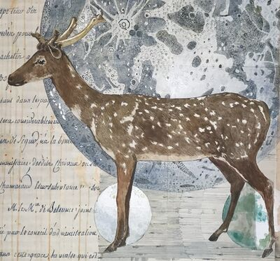 Renee Bott, 'Deer Moon', 2020