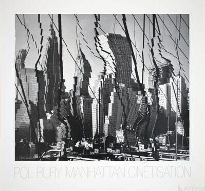 Pol Bury, 'Manhattan Cinetisation (1964)', 1986