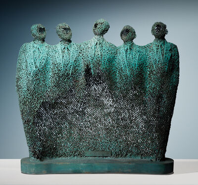 NYOMAN NUARTA, '5 Officials', 1990