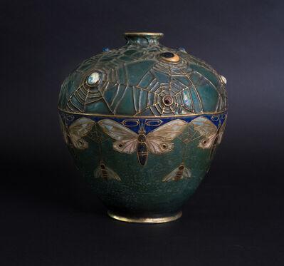 Amphora, 'Jeweled Moth Semiramis Vase', ca. 1900