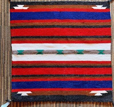 Navajo artist, 'Navajo saddle blanket', 2019
