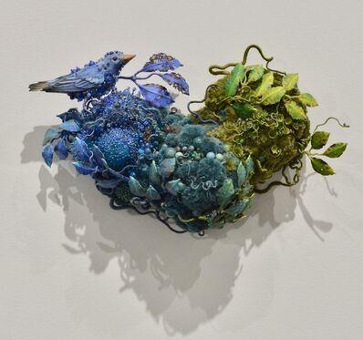 Amy Gross, 'Blue Warbler'