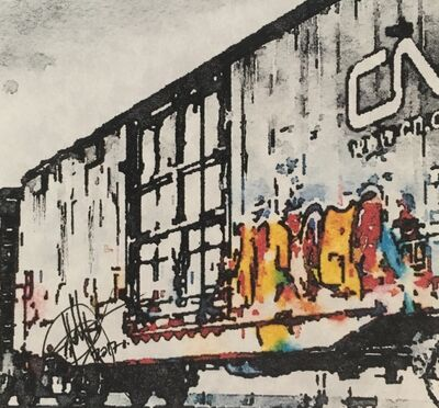 Mariam Qureshi, 'CN rail  ', 2017