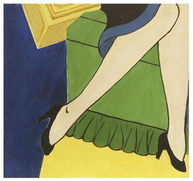 George Schneeman, 'Cigarette/Girl', 2006