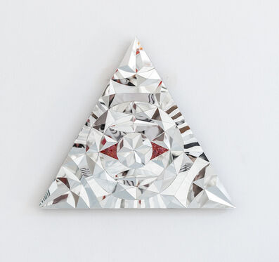 Monir Farmanfarmaian, 'Untitled (Triangle)', 2016
