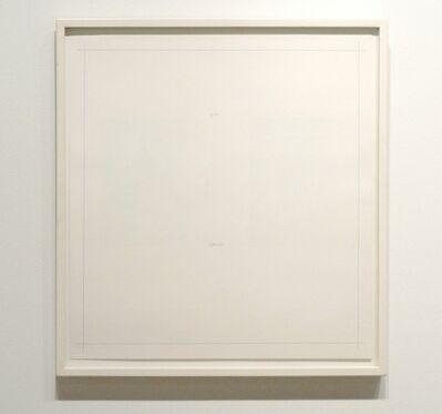 Robert Ryman, 'Untitled from On the Bowery Portfolio', 1969