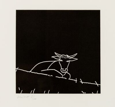 Alex Katz, 'Untitled (Cow)', 2005