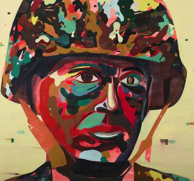 Jules de Balincourt, 'Psychedelic Soldier', 2012