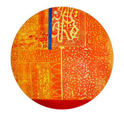 Abbas Yousif, 'Orange & Red', 2015
