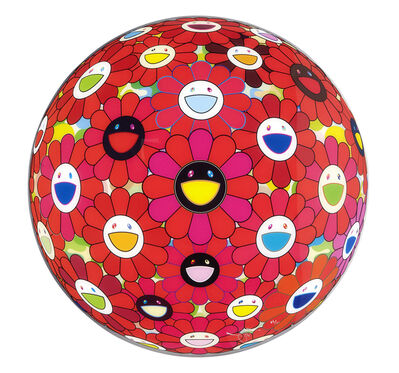 Takashi Murakami, 'Flower Ball 3D Red Ball', 2013