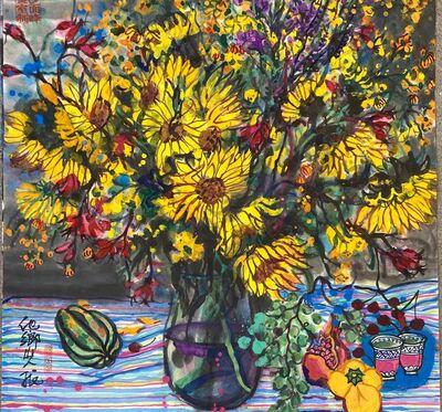 Qiu Jie, 'Fleur d'automne 9', 2020