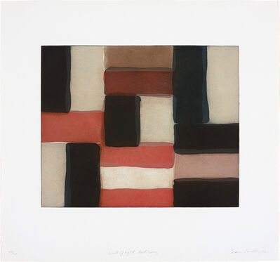 Sean Scully, 'Wall of Light Red Grey', 2002