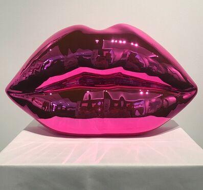 Niclas Castello, 'The Kiss - Shiny Pink', 2017