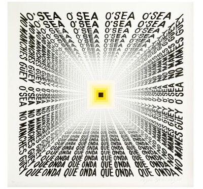 Pedro Friedeberg, 'Escuchando en el metro', 2021