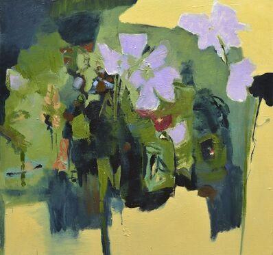 Jennifer Hornyak, 'Trois fleurs lilas', 2015