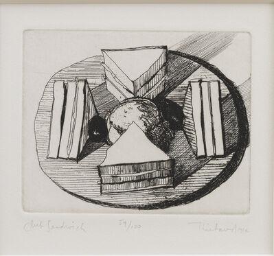 Wayne Thiebaud, 'Club Sandwich', 1964