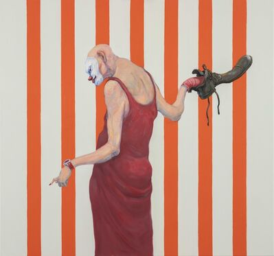 Michael Kvium, 'Pale Male Tale', 2019