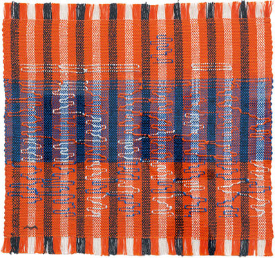 Anni Albers, 'Intersecting', 1962