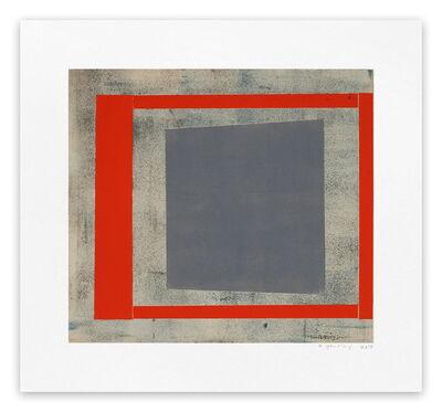 Elizabeth Gourlay, 'Slate red ash 1', 2013