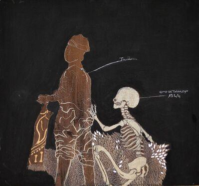 Omar Ba, 'Ombres dans le noir #3', 2011