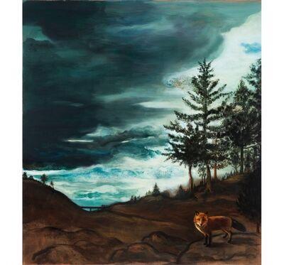 Jane Smaldone, 'Storm Clouds with Fox', 2016