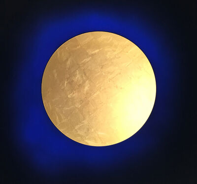 Lita Albuquerque, 'Heavy Metal Solar Explosion (Gold au2)', 2018