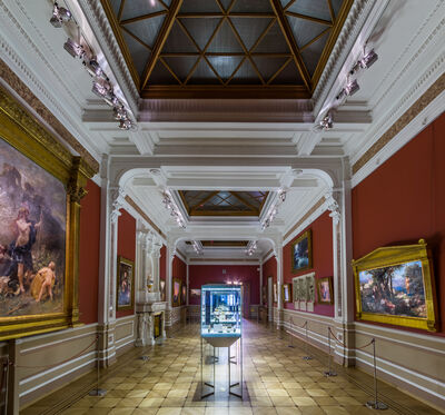 House of Fabergé, 'Fabergé Museum in St. Petersburg, The Exhibition Hall'