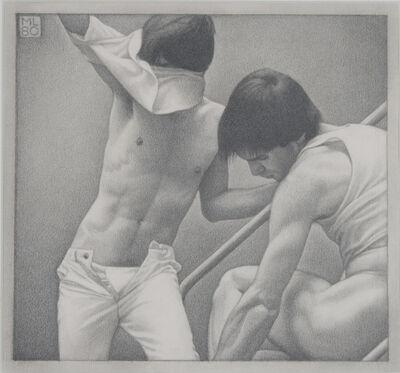 Michael Leonard, 'On the Steps I', 1980