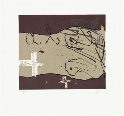 Antoni Tàpies, 'Cos i creus', 2005