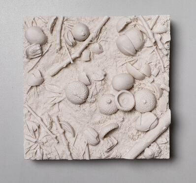 Kate MacDowell, 'Patch of Ground, Acorns', 2019