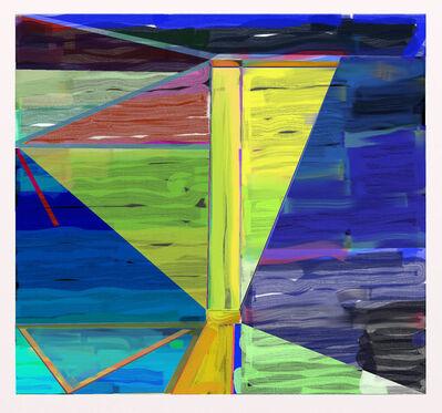 "Warren Rosser, 'Pole Series ""C""', 2019"