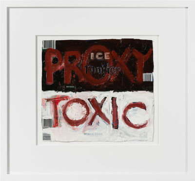 Fiona Hall, 'proxy toxic', 2020