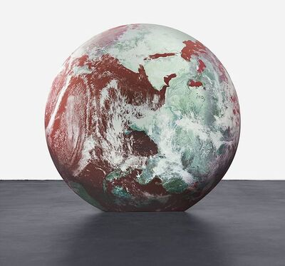 Katja Novitskova, 'Planetary potential (red earth)', 2016
