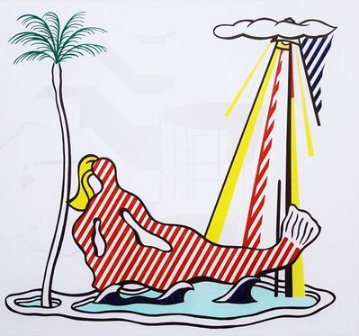 Roy Lichtenstein, 'Mermaid', 1978